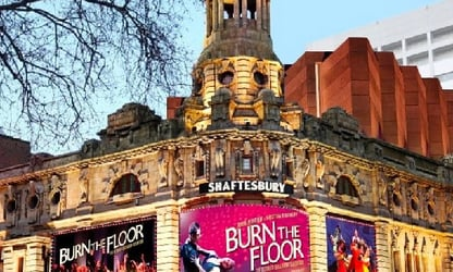Shaftesbury Theatre, Front of House