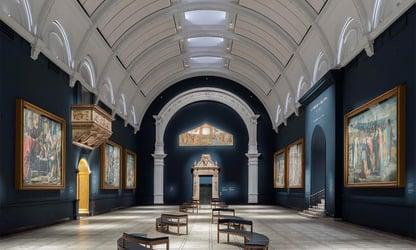 V&A Museum - Raphael Court
