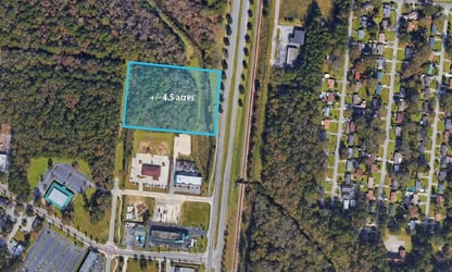 Centrally located tract