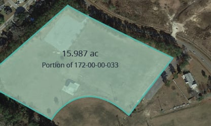 15.987 acres of land