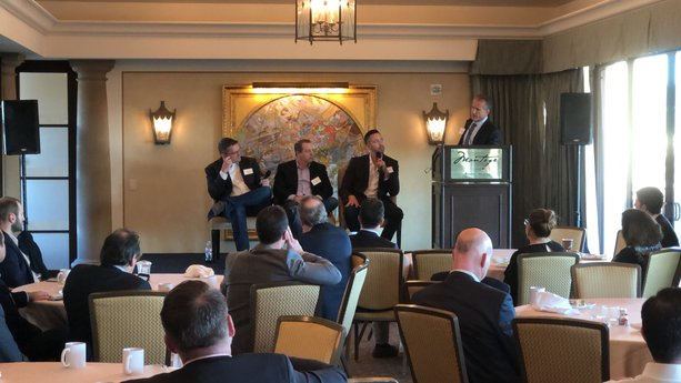 Avison Young's Downtown Los Angeles Managing Director and Principal, Ted Simpson co-hosted his 10th CFO Forum