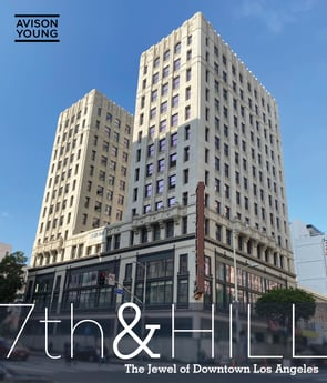 Avison Young arranges loan for newly renovated, historic high-rise apartment property in downtown LA's historic core