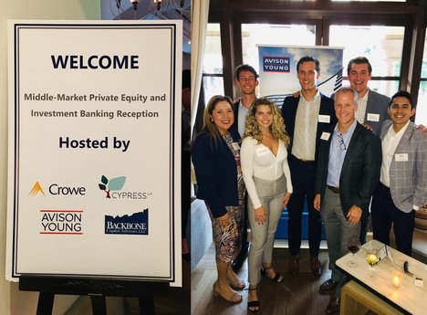 Avison Young co-hosts cocktail networking mixer for the Association for Corporate Growth (ACG) Conference in Beverly Hills