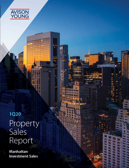 First Quarter Property Sales Report