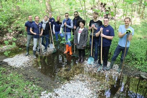 """""""Earth Day"""" 2019: Avison-Young-Teams deutschlandweit für die Natur im Einsatz"""