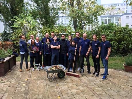 """Sechster """"Day of Giving"""" von Avison Young: Tausende Mitarbeiter weltweit und in Deutschland im Einsatz für den guten Zweck"""