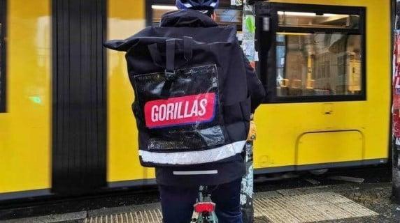 """Gorillas"" in Altona"
