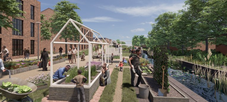 Avison Young appointed to support major residential canalside development in Wolverhampton