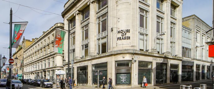 Landmark Cardiff building is being brought to market