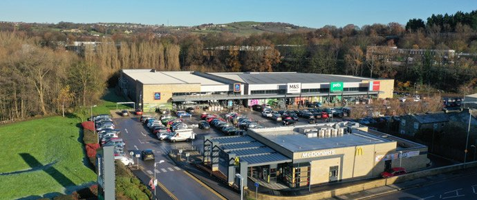 Sale of Huddersfield Retail Park Completes