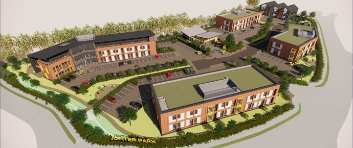 New Bristol office park with a focus on wellness and sustainability gets the go-ahead