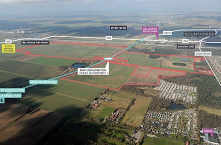 Avison Young appointed to market 550-acre Lincolnshire Lakes development site
