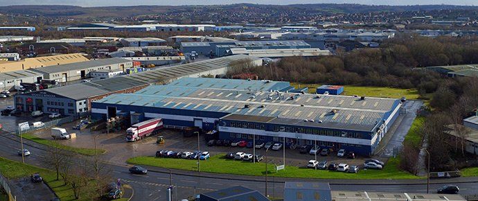 Large production / distribution unit on Mangham Road, Rotherham brought to the market by Avison Young