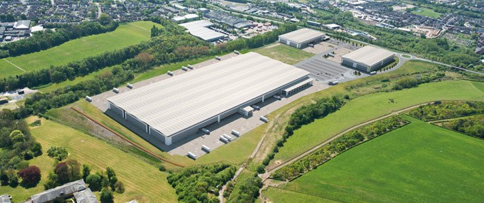 All three speculative warehouse units at Panattoni Park in Nottingham let
