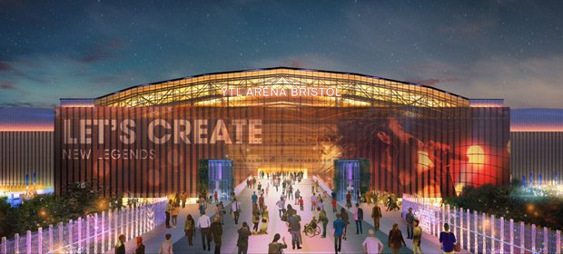 Avison Young works with YTL to submit plans for an arena complex for Bristol