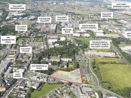 Exceptional residential development site in Tallaght