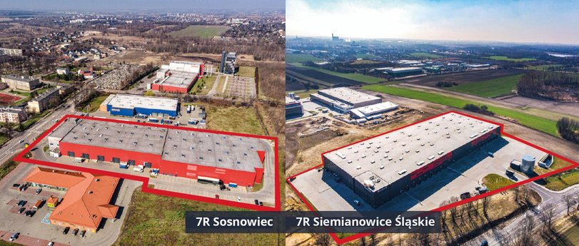 M7 acquired 2 warehouses from 7R