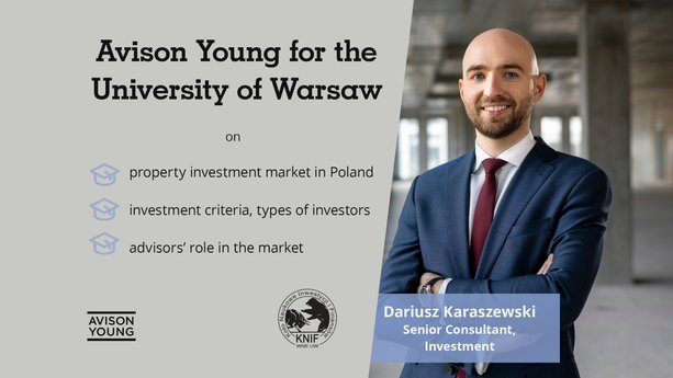 Avison Young for the University of Warsaw