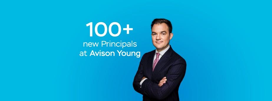 100+ new Principals at Avison Young
