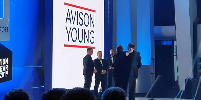 Avison Young awarded by Panattoni