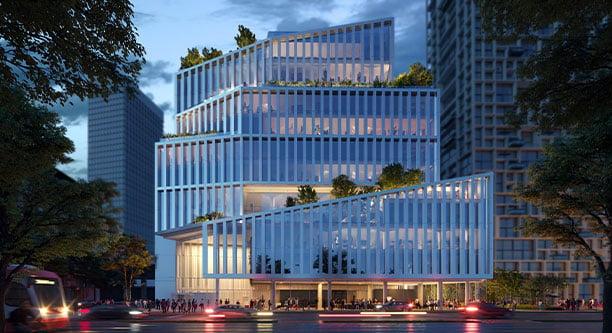 New Toronto waterfront community offers innovative, progressive office space