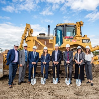 Ground Breaking Ceremony at 1121 & 1147 Thornton Road South in Oshawa