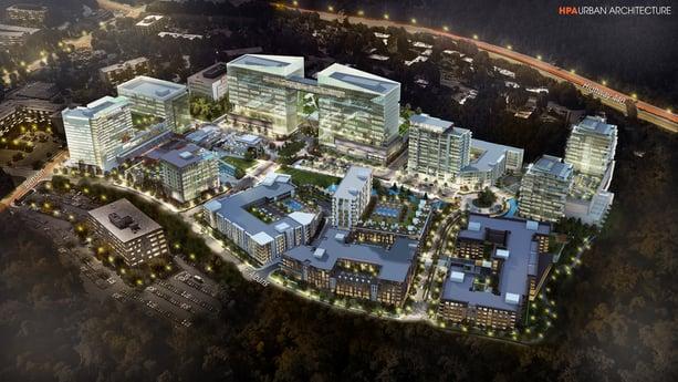 Dewitt Carolinas secures financing to kick-off infrastructure work of $1 billion mixed-use development