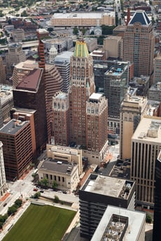 Avison Young tapped to market 10 Light, an iconic 36-story luxury apartment / retail asset in downtown Baltimore, MD