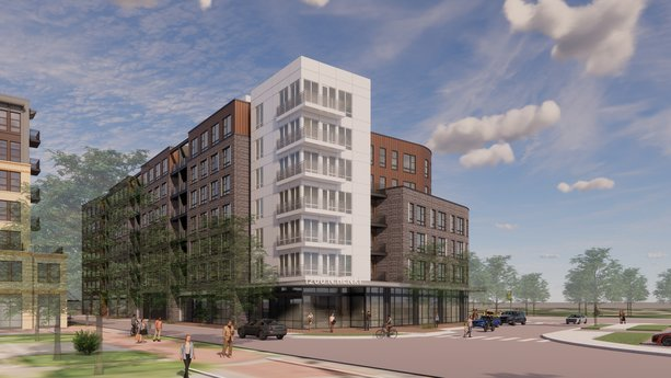 Avison Young Arranges Construction Loan for 119-Unit Multifamily Development in Old Town Alexandria near Amazon HQ2
