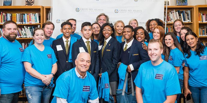 Avison Young Partners with Atlanta High School for Work Study Program