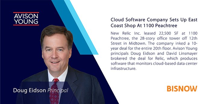 Cloud Software Company Sets Up East Coast Shop At 1100 Peachtree