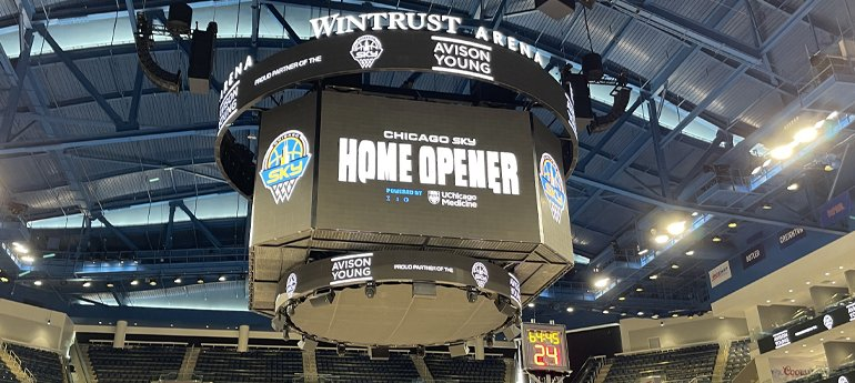Avison Young partners with Chicago Sky, impacting Chicago communities for fifth year