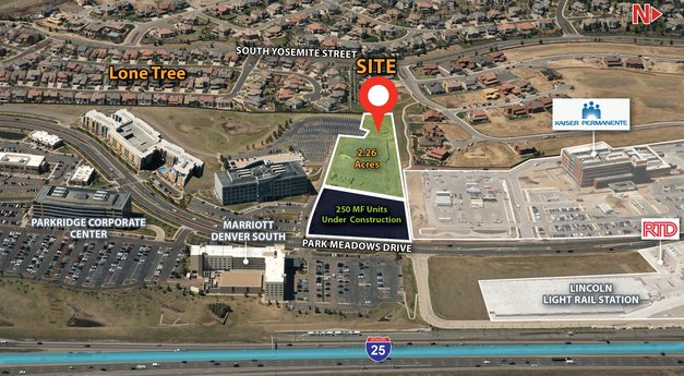 Avison Young brokers sale of 2.26-acre site in Lone Tree, CO