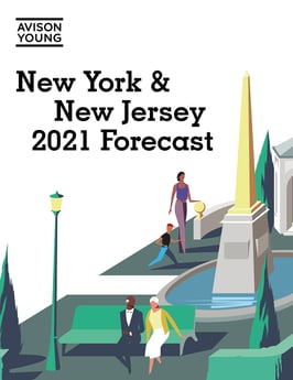 PRESS RELEASE: Future of New York City real estate dependent on vaccine and stimulus aid, according to Avison Young's New York 2021 Forecast Report
