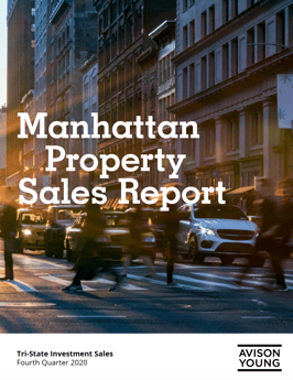 PRESS RELEASE: Manhattan investment sales activity increases in 4Q20 compared to 3Q20