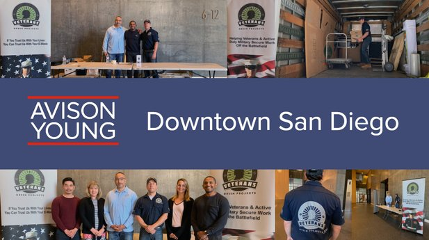Avison Young Downtown San Diego Earth Day