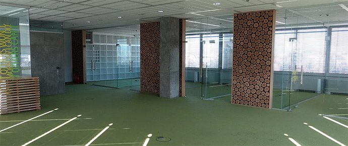 Free office space at Serdika Offices 280 sq.m.