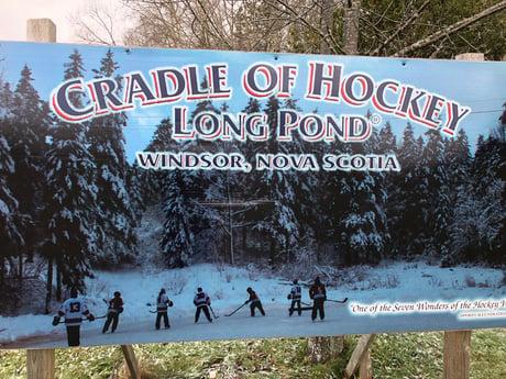 Iconic hockey pond hits market