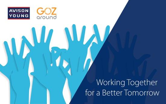 Avison Young and GozAround Partner to Promote Philanthropy