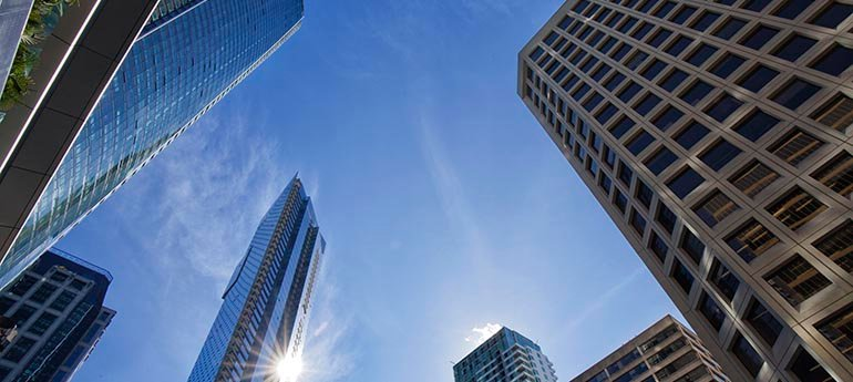 Top floor types: Building Verticality & Office Leasing Trends in Vancouver, BC (Summer 2021)