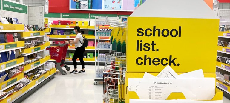 Back-to-school spending surge stresses supply chain
